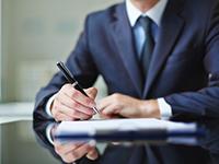 貸渡契約書の確認・支払い